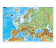 Europa physisch (italienisch)