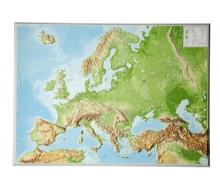 3D-Reliefkarte Europa