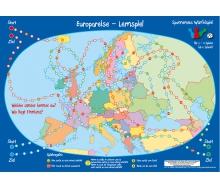 Europareise-Würfelspiel