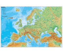 Handkarte Europa physisch - 25 Stück