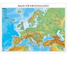 XXL-Brandschutz-Karte Europa physisch