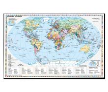 Staaten der Erde politisch auf Forexplatte