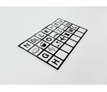 Wirtschafts-Haftsymbole SET mit 10 Bögen