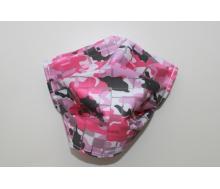 Mund- & Nasenmaske - Camouflage pink