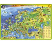 """Bodenmatte """"Kindereuropakarte - Max und Maxi entdecken Europa"""""""
