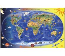 """Bodenfliese """"Max und Maxi entdecken die Welt"""""""