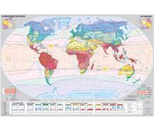 Handkarte Klimazonen der Erde Set