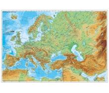 Europa und der Nahe Osten physisch auf Wabenplatte zum Pinnen