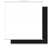 Aufrollbare Whiteboardtafel blanko (magnethaftend)
