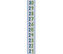 """Bodenmatte """"Zahlenstrahl 21-30"""""""