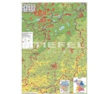 Landkreiskarte Pfaffenhofen