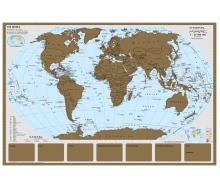 Rubbelkarte Staaten der Erde - Poster