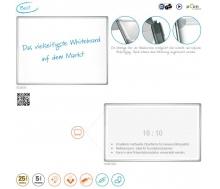 Whiteboardtafel - Schreibtafel PRO, magnethaftend, emailliert