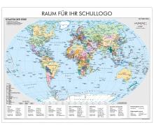 XXL-Brandschutz-Karte Staaten der Erde politsch