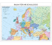XXL-Brandschutz-Karte Staaten Europas