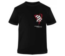 T-Shirt schwarz Promodoro Aufdruck Bayern dahoam