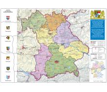 Bayern politisch XXL-Puzzle magnetisch