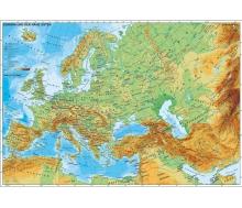 Fototapete Europa und der Nahe Osten physisch
