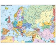 Fototapete Europa und der Nahe Osten politisch