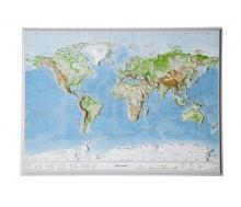 Reliefkarte Welt