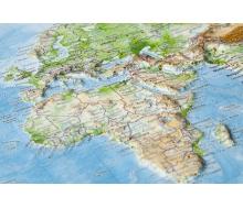 3D-Reliefkarte Welt
