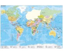 Die Welt politisch XXL-Puzzle magnetisch