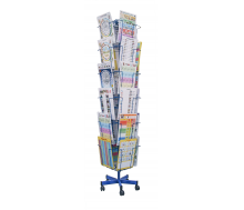 Drehständer für Informationsblätter oder Prospekte