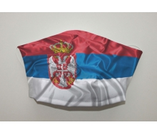 Mund- & Nasenmaske - Serbien