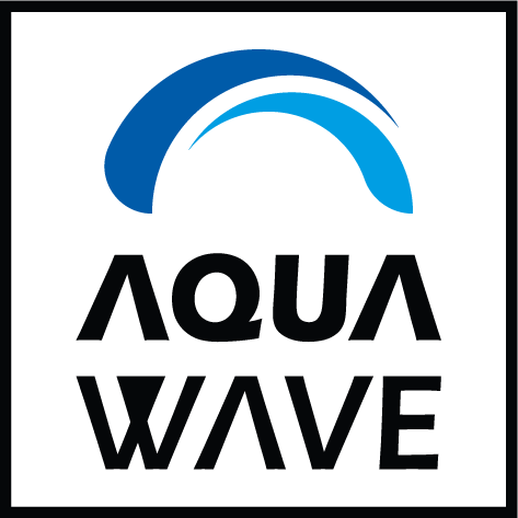 Logo aquawave 40x40mm